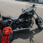 シドニーで旅のバイク選び!トライアンフ StreetTwin 900cc 出発準備②