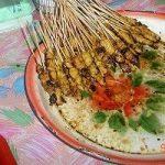 クアンタンでマレー料理と夜市のサテー(焼き鳥)