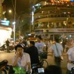 ラオスからベトナムのハノイへ到着