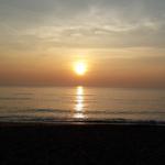 バンクルード・ビーチ(BanKrut Beach) 日中と夕方の様子
