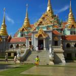 タン・サイ寺院(Wat Tang Sai)最下層の隠れ部屋 in Ban Krud
