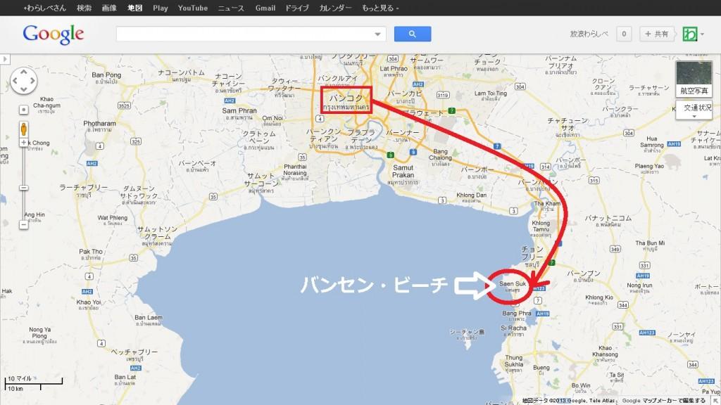 Bangsaen_map1