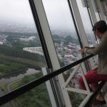 【函館】五稜郭タワー高さ107mの展望台料金は大人840円★土方歳三★