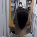 100バーツカット『JUST CUT』で散髪 @プラカノン in タイ