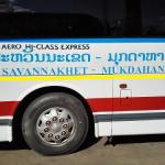 サワンナケートからバンコクへの帰り方【バス時刻表】by サハパンツアー