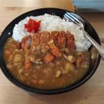 日本料理店『うま食堂』のボリューム満点カツカレーライス in プラカノン
