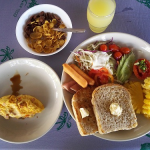 『Koh Kood Beach Resort』の朝食ブッフェ in クッド島(クード島)