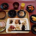 紀州南部ロイヤルホテルの朝食ブッフェ!雪景色を見ながら