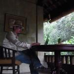 情緒あふれる空間での早朝作業 in バリ島