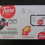 タイのTuneNet SIMカードは意外と快適♪(設定不要)
