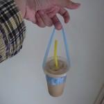 コーヒーSHOPの手さげビニール袋が素晴らしい件