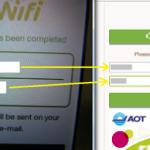 タイのドンムアン空港『無料WiFi』の使い方(スマホとPC)2015年版