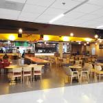ドンムアン空港第二ターミナルのフードコート(Magic Food District)の様子