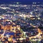 霧雨で函館山ロープウェイ!金森赤レンガ倉庫のラッキーピエロで夕食
