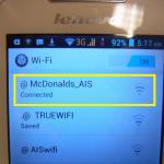 タイのマクドナルド(Mc)『無料WiFi』の使い方ガイド