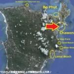 サムイ島のチャウエンビーチ(Chaweng)とボプットビーチ(Bo Phut)