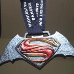 タイのミッドナイトラン2016に参加(バットマン vs スーパーマン)