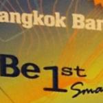 バンコク銀行ATMカード(ICチップ搭載)Be1stスマートの種類