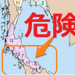 【危険地区マップ】タイ・パッタニー県における爆弾事件等の発生場所ってどこ?
