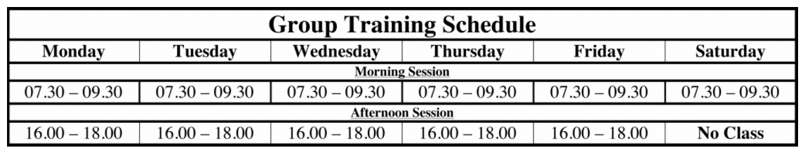 muaythai_group_training_schedule2016