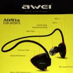 『awei』アウェイのジョギング用Bluetoothヘッドホン/イヤホン※転売でボロ儲け!?