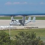 オスプレイが大分空港に緊急着陸!撮影ポイントから実物オスプレイを見学