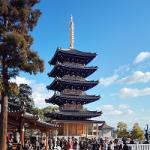 【初詣】中山寺に完成した青色の五重塔が美しく綺麗だった!行き方