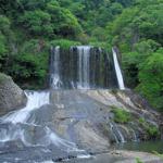 龍門の滝(竜門の滝)キャンプ場と駐車場 in 大分県玖珠郡九重町