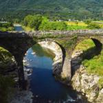 宇佐の鳥居橋(とりいばし)石橋へぶらりと立ち寄る in 大分